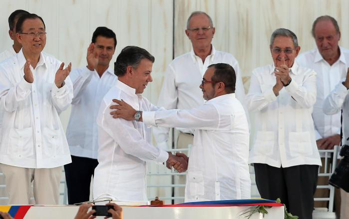 Colombia Peace Ceremony